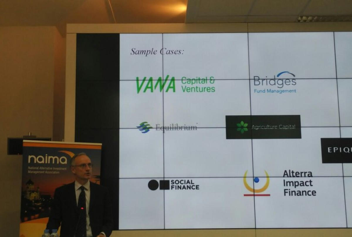 A roundtable discussion on impact investing took place on September 22, 2017 in Moscow
